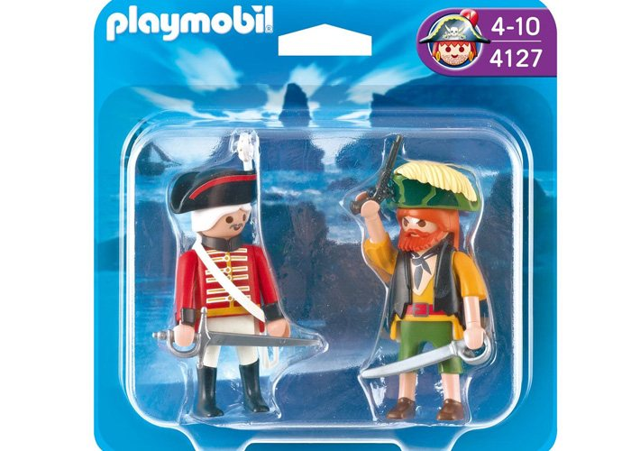 Playmobil 4127 Dúo Pack Pirata y Soldado playmobil