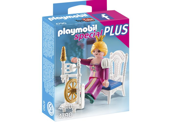 Playmobil Special Plus Princesa con rueca playmobil