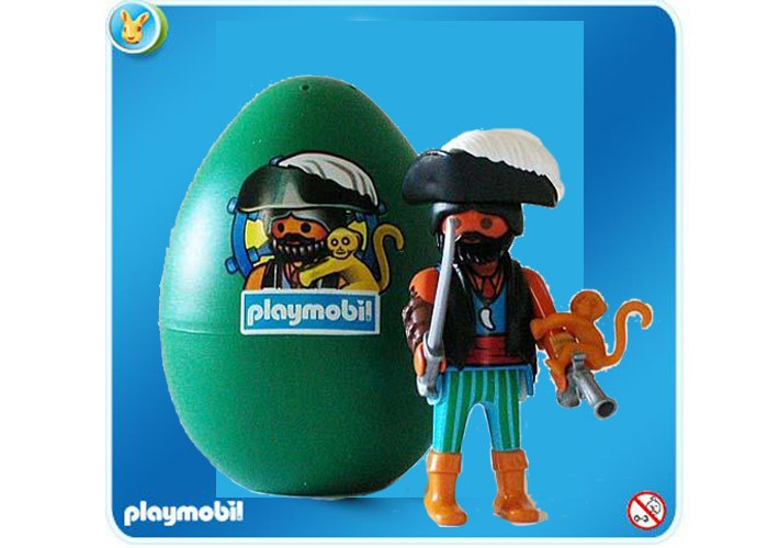 Playmobil 4915 Pirata con mono playmobil