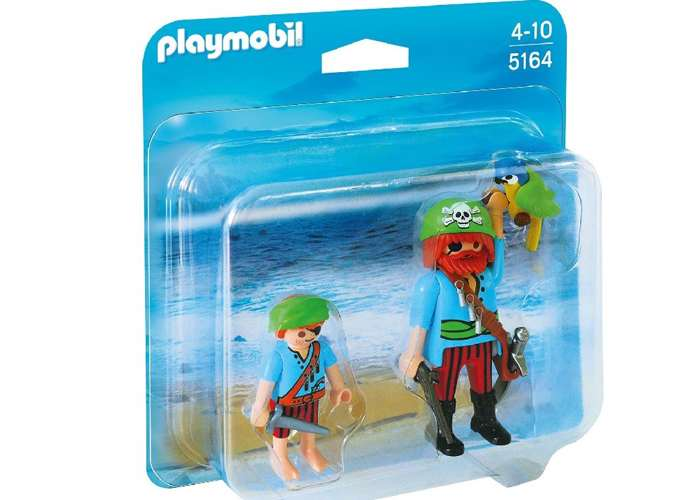 Playmobil 5164 Duo Pack Pirata con niño playmobil