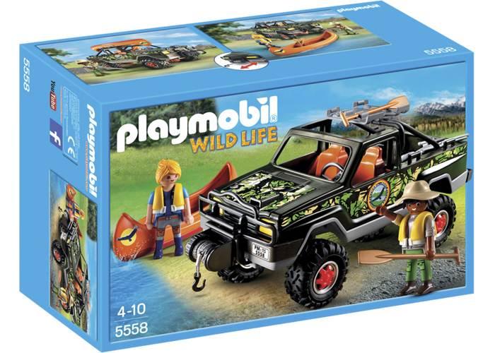 Playmobil Coche Pick up de aventura playmobil