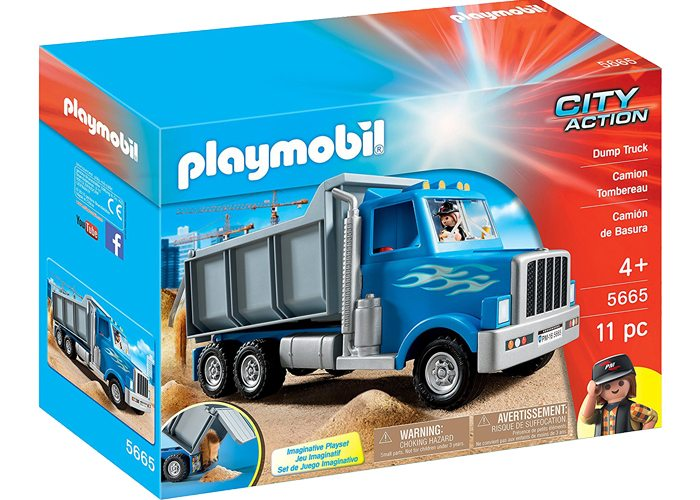Playmobil Camion Volquete Obras  playmobil