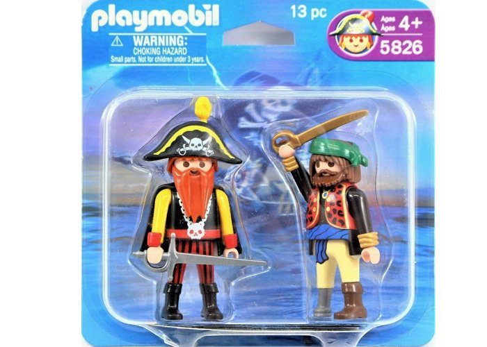 Playmobil 5826 Duo Pack Pirata barbaroja y Corsario playmobil