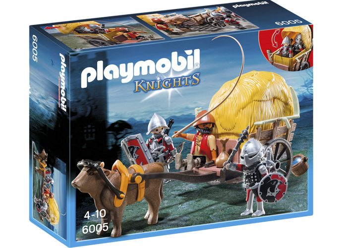 Playmobil Carrro Escondite Medieval playmobil