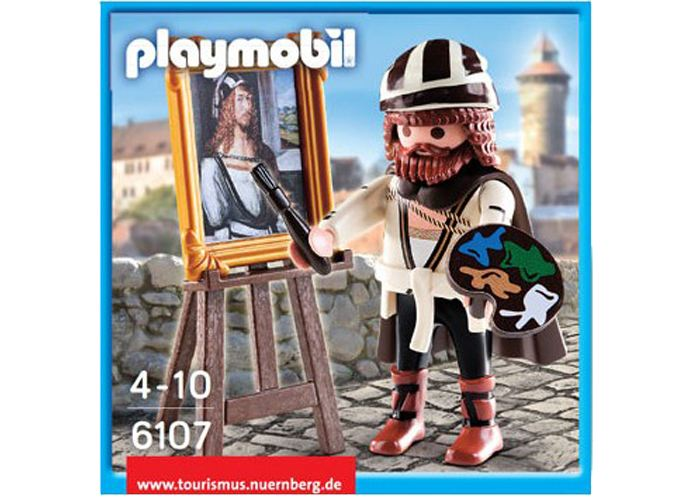 Playmobil Exclusivo pintor Alberto Durero  playmobil