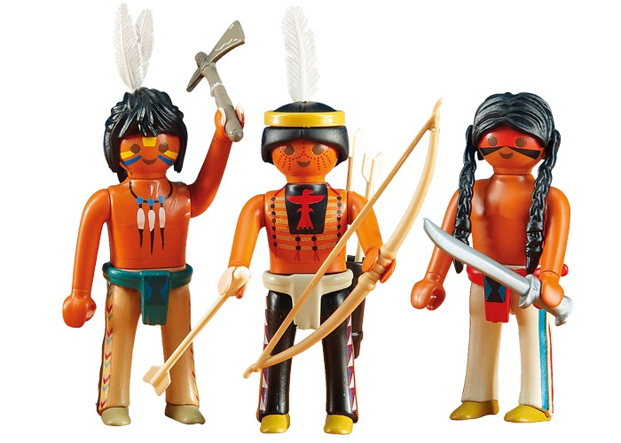 Playmobil Indios Sioux del Oeste playmobil