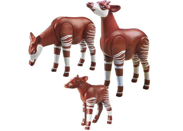 Playmobil Okapis Animales playmobil