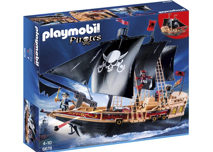 Playmobil barco pirata Buque Corsario playmobil