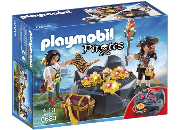 Playmobil escondite del tesoro pirata playmobil