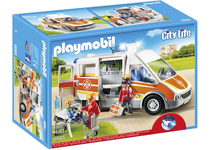 Playmobil Ambulancia con luces y sonido playmobil