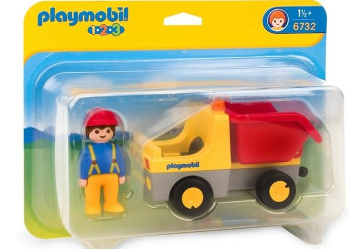 Playmobil 6732 Camion Volquete 1 2 3 playmobil