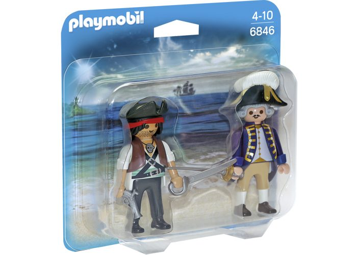Playmobil Dúo Pack pirata y soldado playmobil