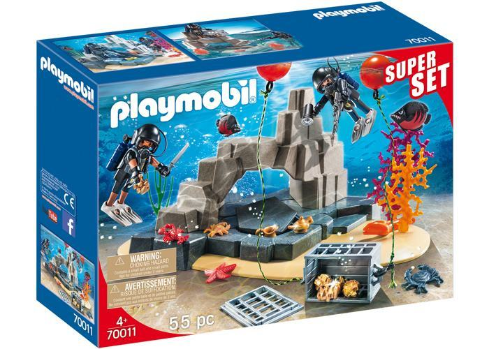 Playmobil 70011 SuperSet Buzos playmobil
