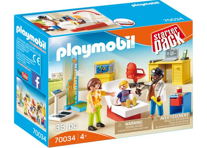Playmobil 70034 Consulta de Pediatra playmobil