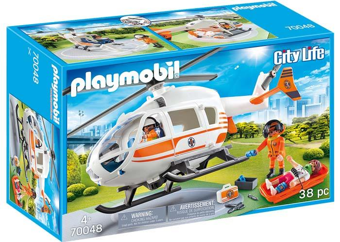 Playmobil 70048 Helicoptero de Rescate playmobil