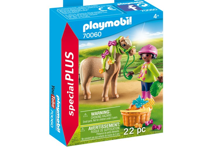 Playmobil 70060 Niña con Pony playmobil