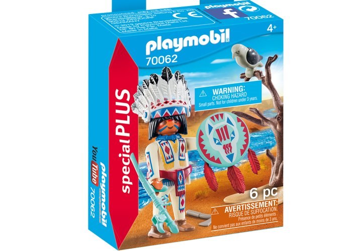 Playmobil 70062 Jefe Indio playmobil