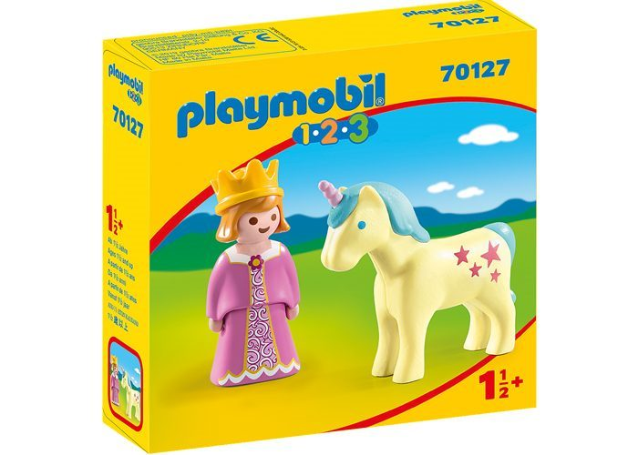 Playmobil 1 2 3 Princesa con Unicornio playmobil