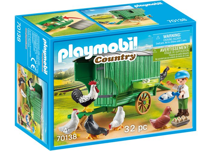 Playmobil 70138 Carro Gallinero playmobil