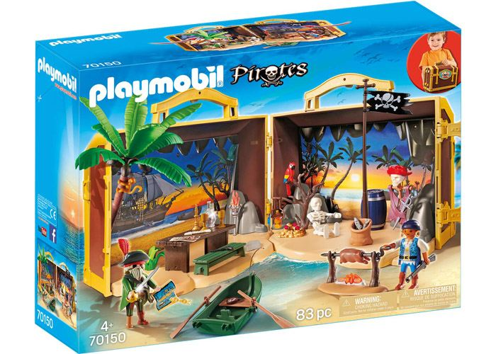 Playmobil 70150 Maletín Piratas playmobil