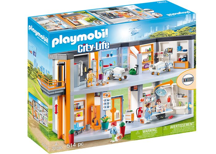 Playmobil 70190 Gran Hospital Amueblado playmobil