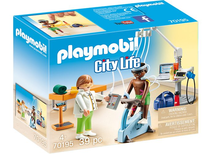 Playmobil 70195 Especialista Fisioterapia playmobil