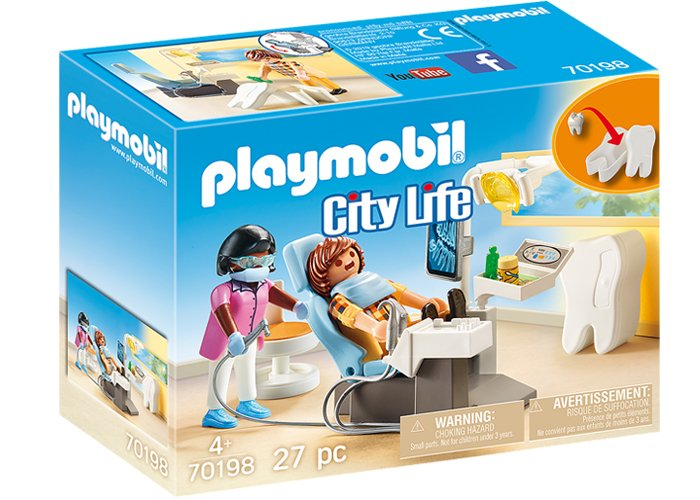 Playmobil 70198 Dentista del Hospital playmobil