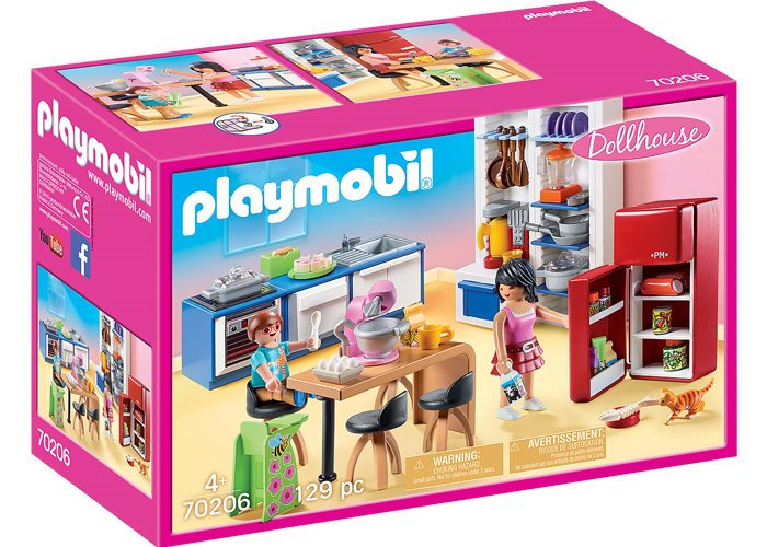 Playmobil 70206 Cocina familiar Dollhouse playmobil