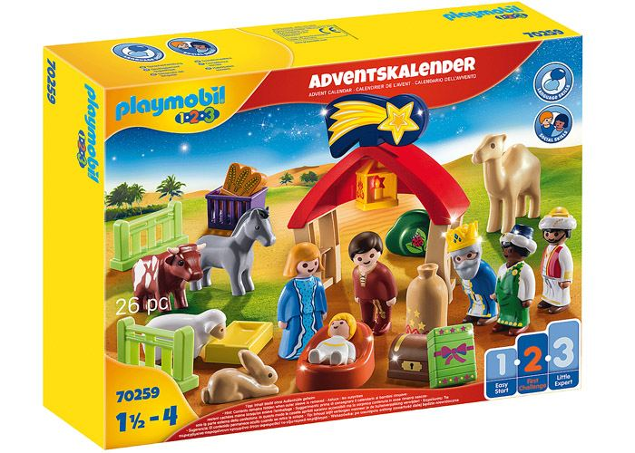 Playmobil 70259 Calendario Adviento 1 2 3 Belen playmobil