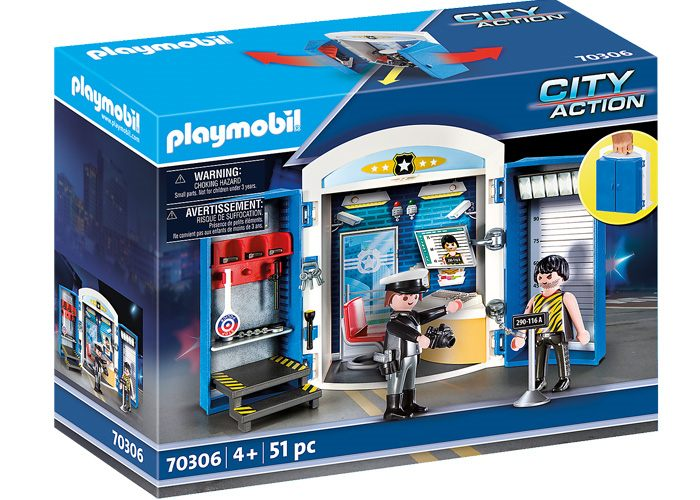 Playmobil 70306 Maletín Central Policías playmobil