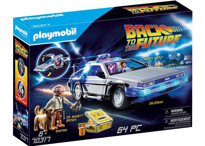 Reserva Playmobil 70317 Regreso al Futuro Delorean playmobil