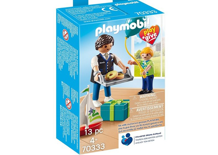 Playmobil 70333 Play & Give Padrino con niño playmobil