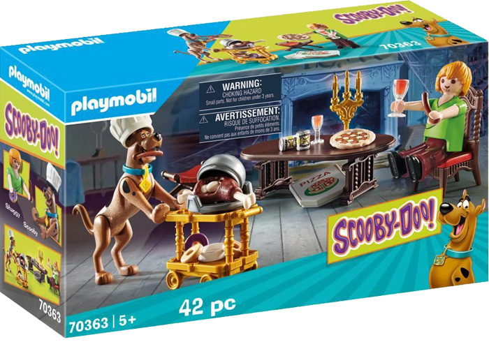 Playmobil 70363 Cena con Shaggy playmobil