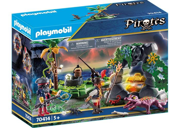 Playmobil 70414 Escondite Pirata playmobil