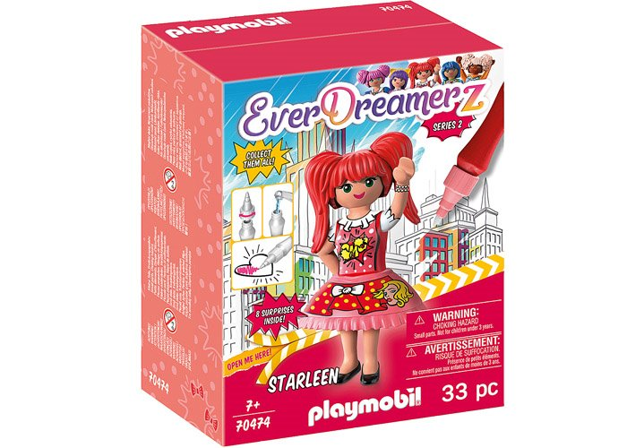 Playmobil 70474 Starleen - Comic World playmobil