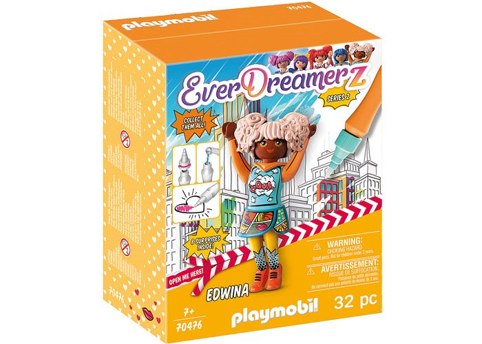 Playmobil 70476 Edwina - Comic World playmobil