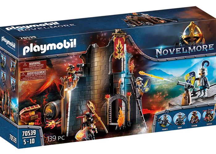 Playmobil 70539 Ruinas Burnham Raiders Novelmore playmobil