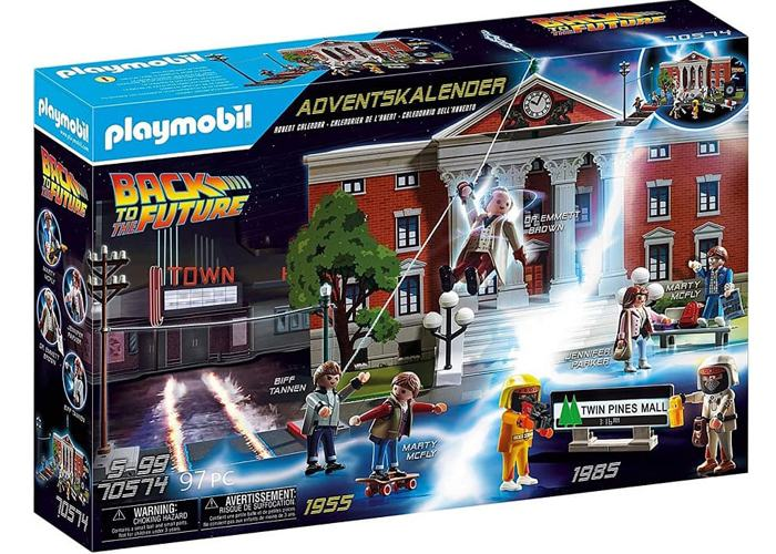 Playmobil 70574 Calendario de Adviento Regreso al Futuro playmobil