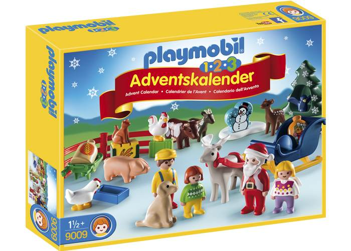Playmobil 1 2 3 Calendario de Adviento- Granja de Animales playmobil