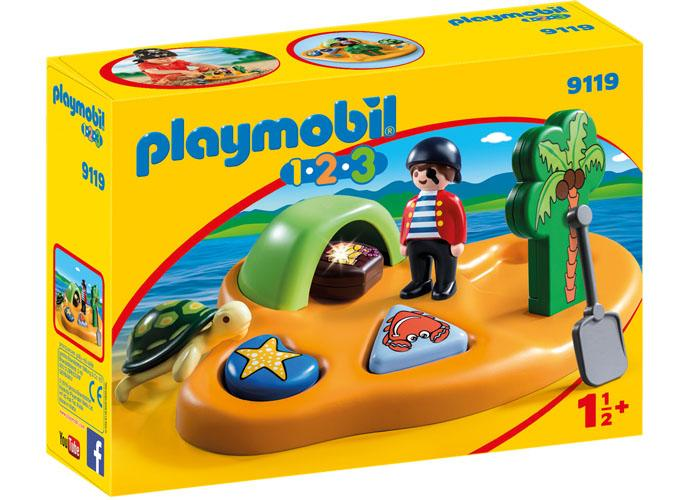 Playmobil 1 2 3 Isla Pirata playmobil