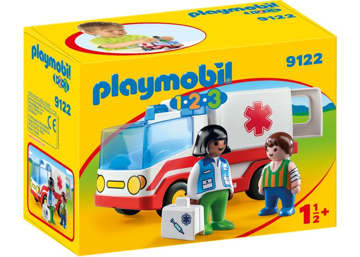 Playmobil 1 2 3 Ambulancia playmobil