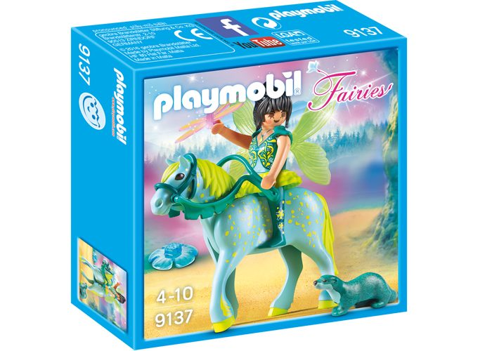 Playmobil Hada con caballo Aquarius playmobil