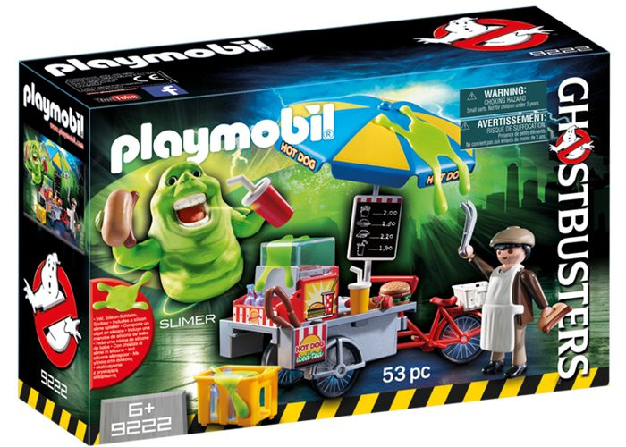 Playmobil Slimer con stand de Hot Dog playmobil