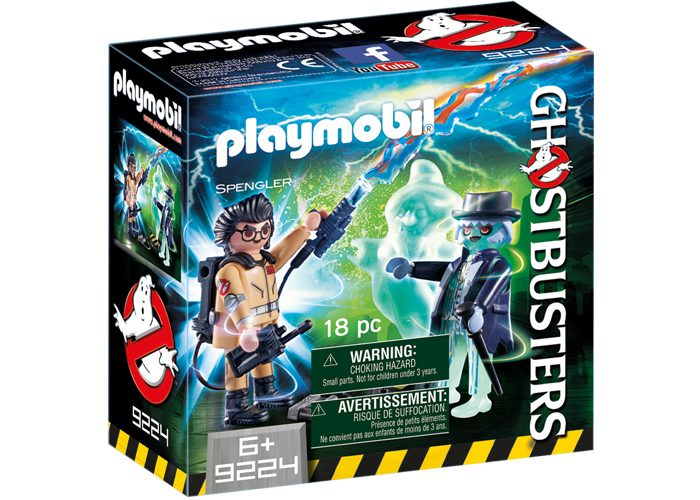Playmobil Splenger y Fantasma Ghostbuster playmobil