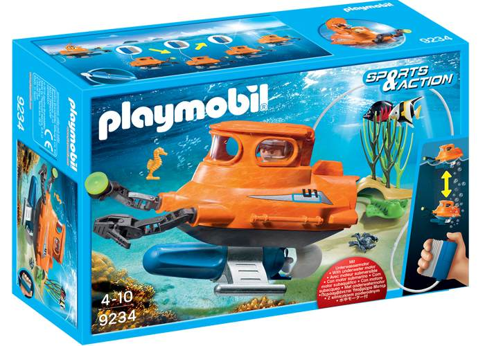Playmobil 9234 Submarino con motor playmobil