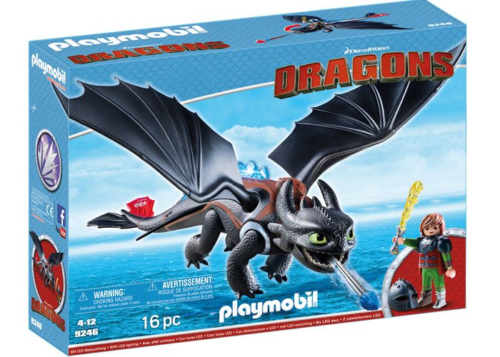 Playmobil Dragons Hipo y Desdentao playmobil