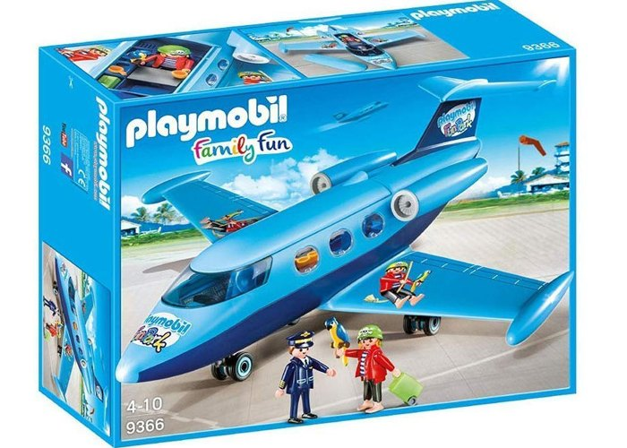 Playmobil 9366 Avion Exclusivo Fun Park playmobil