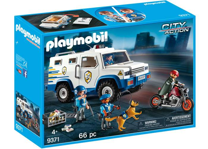 Playmobil 9371 Vehiculo Blindado Policia playmobil