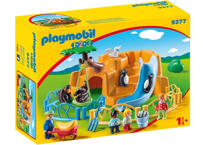 Playmobil 9377 Zoo de animales 1 2 3 playmobil