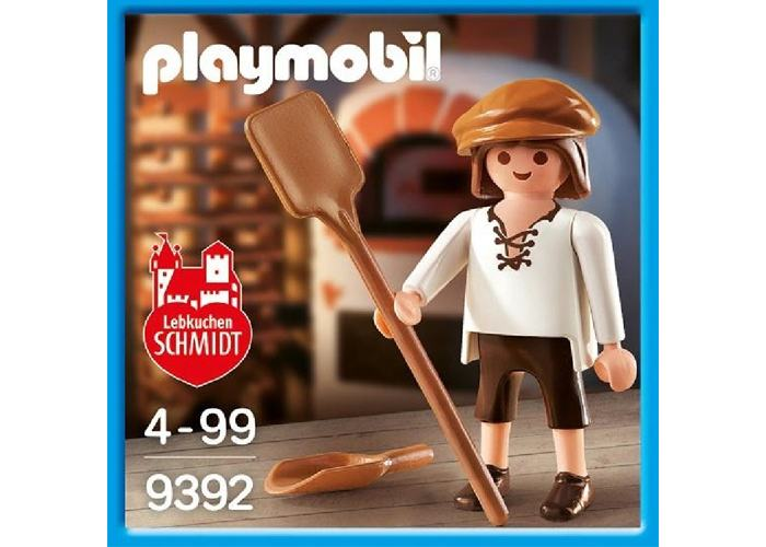 Playmobil 9392 Panadero Exclusivo Lebkuchen playmobil